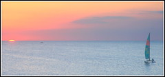 sunset cat (GR167) Tags: catamaran hobie keylargo