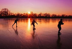 Skating at sunset never seem to last quite long enough (B℮n) Tags: wijdemeren ankeveense plassen ice skating ijspret ijs iceskating thenetherlands holland iceskate schaatsen waterland elfstedentocht natuurijs ijstochten wintertime skatingonnaturalice dutchskaters schaatseninwaterland skateoutdoor schaats schaatsgekte bevrorenmeer nearamsterdam wijwillenijsvrij dutch tradition seaofice polders sneeuw snow skates koekenzopie speedskaters frigidconditions cold winter hailing ijsoppervlakte dichtbevroren schaatsrijders schaatstocht genieten enjoy pleasure ijzers sunshine freeze noren klapschaatsen klapschaats skaters pootjeover nederland netherlands kids children fun sun sunset sidebyside shadows 50faves topf50 100faves topf100 200faves topf200