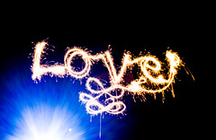 love is in the air (PDKImages) Tags: lights torch dark hearts love sparklers sparkle message fizz writing fizzy heart cat face bright daisy flower