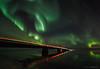 Lights (Friðþjófur M.) Tags: canon5dmarkii samyang14mm héraðsvötn water northernlights norðurljós nordlicht norðvesturland reflection iceland ísland iso1600f28 friðþjófurm bridge carlights stars mountain mountains outdoor cffaa