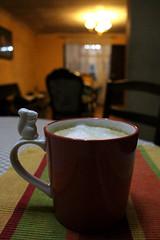 Latte Vainilla (Liragraph) Tags: coffee café latte vainilla vanilla cup taza squirrel ardilla
