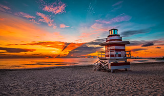 In South Pointe Beach. ©®