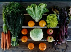 Suzie's CSA box, Week of Mar. 3 - 12
