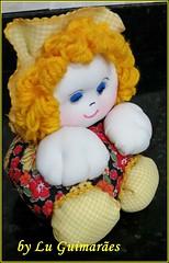20150818_192112 (Artesanato com amor by Lu Guimaraes) Tags: artesanato fuxico boneca decoração tecido enfeite