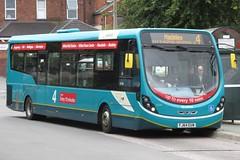 Arriva Midlands North Wright Streetlite 3334 (FJ64 EUW) (Telford) (john-s-91) Tags: arriva oakengates 3334 arrivamidlandsnorth wrightstreetlite fj64euw telfordroute4