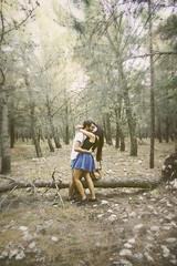 Lost in your arms (Rox ♥) Tags: love nature forest canon reflex kiss couple sweet bokeh kisses natura dolce amour baci iloveyou lovely amore dolcezza bacio coppia foresta abbraccio fidanzati innamorato bokehlicious happybokehwednesday beyondbokeh