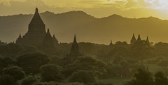Sunset at Bagan, Myanmar (Salvatore Ferri) Tags: world voyage travel beauty landscape photography photo yahoo google flickr image photos earth images viajes national planet lonely fotografia discovery viaggi viaggio geographic gettyimages voyages mondo immagini scoperta