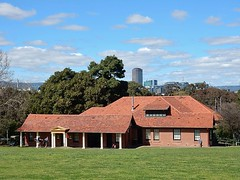 North Adelaide Golf Course - Clubhouse (mikecogh) Tags: roof tiles golfcourse cbd pillars clubhouse northadelaide parklands