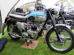 Triumph (BSMK1SV) Tags: club vintage durham district south triumph motorcycle motor middlesbrough 2015 teessideclassicbikeshow