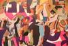 IMG_8586 (Experimental_Sound_Studio) Tags: chicago art collage artopening tiredeyes danmohr chicagogallery jordanmartins audiblegallery