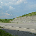 The bucolic KY 11 roadcut near Tilton thumbnail
