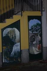 Valloria (092) (Pier Romano) Tags: doors painted liguria porte imperia artisti dipinte valloria dolcedo