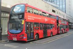 John Princes Street, London, 13/05/15 (aecregent) Tags: london volvo 7 wright hybrid londonbuses metroline johnprincesstreet gemini3 vwh comfortdelgro 130515 b5lh discoverperu vwh2002 lk14faf