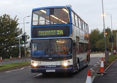 18016 - SF53 BYO (Cammies Transport Photography) Tags: road park bus coach fife via alexander dennis stagecoach 2a queensferry trident rosyth in byo 18016 ferrytoll sf53byo duloch sf53 pampr