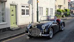 1956 Triumph TR3 (Lazenby43) Tags: triumph britishsportscar wirewheels oas373