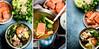 Salmon steamboat (Jan Jansson) Tags: food hot asian soup vietnamese salmon vietnam pot seafood steamboat asianfood hotpot enoki foodphotography ricenoodles