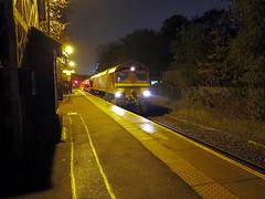 Fenny Stratford (DarloRich2009) Tags: miltonkeynes buckinghamshire nr dbs class66 marstonvale networkrail fennystratford rhtt railheadtreatmenttrain sandite englishwelshandscottish 66204 dbschenker 66188 dbschenkerrailuk fennystratfordstation fennyrailwaystation
