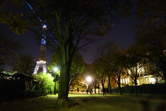 Tour Eiffel from Champs de Mars (Flavie.T) Tags: mars paris tower tour champs eiffel champsdemars