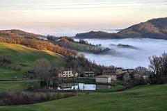 Val Luretta (PC) December 2014 - Cloud bank (emanueleferrari) Tags: italia emiliaromagna gazzola nebbiatrebbialuretta