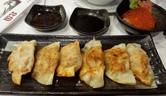 Japanese fare (Roving I) Tags: vietnam dining sauces danang salmonroe japanesecuisine foodcourts redcaviar gouza indochinatower