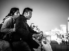 Brave new world (Ordinary_Folk) Tags: china red people bike shop shanghai candid photojournalism documentary social retro riding crowded oldshanghai bravenewworld humanistic shanghaistrangers