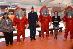 Donación de equipamiento para Bomberos (U.S. Embassy Montevideo) Tags: de bradley bomberos departamento materiales peligrosos donación freden embajadadelosestadosunidos usembassymontevideo