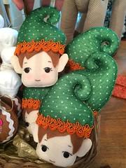 Duendes (Pina & Ju) Tags: christmas natal navidad handmade artesanato gingerbread ornaments feltro patchwork papainoel árvore decoração rena duende tecido enfeite elfo ajudante bolachinha