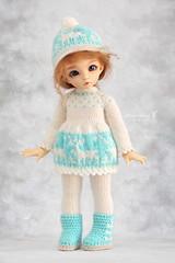 Outfit for YoSD (Maram Banu) Tags: outfit doll dress handmade deer bjd fairyland ante yosd littlefee fairystyle marambanu