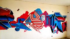 Summer Resonances . Lun82 _(U.S.E) (One LNe82) Tags: summer lune graffiti letters cyan magenta style athens use gradient aerosol linear attica 2014 cityart stylewriting athensgraffiti southathens usecrew lune82