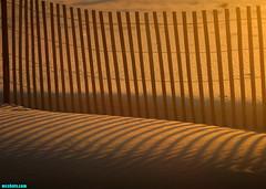 GrandAvenueSandFence (mcshots) Tags: california autumn light sunset usa beach nature colors lines fence evening coast shadows stock shoreline socal sands mcshots elsegundo losangelescounty grandavenue