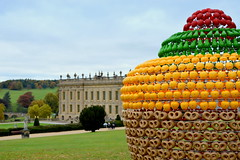 FRUIT CAKE by  Joana Vasconcelos (Tony Worrall) Tags: palace place sculpture statue art view event show exhibition location chatsworthhouse gardens items photos derbys derbyshire devonshire uk england statley home english scene pretty nice beauty sale beyondlimits sothebysbeyondlimits outside artwork arty artist fruitcake color colourful coloured