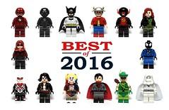 Best Custom Minifigures - 2016 (Phoenix Custom Bricks) Tags: best minifigure minifig minifigures custom lego top