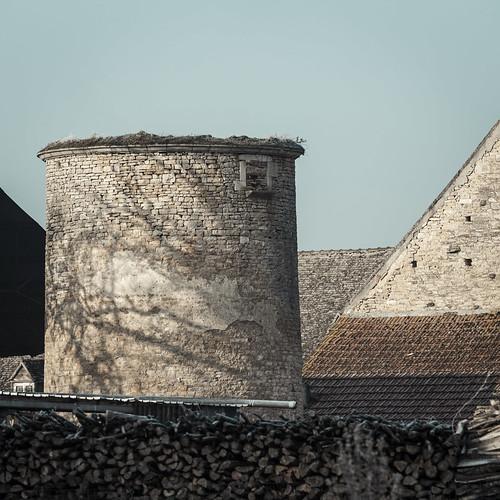 La Tour du Château de Challanges - Beaune