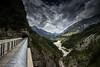 la valle del Vajont (paolotrapella) Tags: vajont valle montagna cielo nuvole