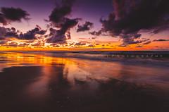 Baltic Glow (RTA Photography) Tags: rta photography jastrzębiagóra rtaphotography poland sea baltic dusk colours sunset sky beach sand water