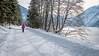 K_112  Achenkirch am Achensee (wenzelfickert) Tags: karwendelgebirge tirol achenkirch alpen achensee winter strase road stausee reservoir bäume trees landscape landschaft see lake mountains berge schnee snow wandern hiking österreich austria frau woman weg way wanderweg trail