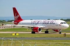 Virgin Atlantic Airbus A320 EI-DEI (Sam Pedley) Tags: eidei virgin airbus a320 virginatlantic virginatlanticlittlered airbusa320 manchesterairport man egcc rvp runwayvisitorpark vs3042 vs vir maggiemay