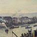 PISSARRO Camille,1896 - Port de Rouen, St-Sever (Orsay) - Detail 27