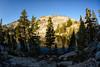Altha Lake in the morning (speedcenter2001) Tags: anseladamswilderness sierranevada sierra sierraphile highsierra california mountains wilderness hiking outdoor backpacking backcountry nikon16mmf35ai fisheye