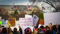 2017.01.29 Oppose Betsy DeVos Protest, Washington, DC USA 00241