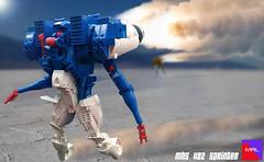 Meuser Sprinter Race (Gamabomb) Tags: lego bot robot photoshop mecha hardsuit sci fi moc