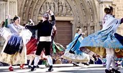 Folk dances . (Franc Le Blanc .) Tags: panasonic lumix spain valencia dances dancers