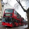 Metroline VPL589 on route 4 Waterloo 08/01/17. (Ledlon89) Tags: bus buses transport tfl london londonbus londonbuses centrallondon