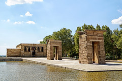 Espanha - Madrid - Templo de Debod (Infinita Highway!) Tags: espanha spain madrid europa europe trip viagem travel sony alpha infinita highway arquitectura architecture arquitetura building