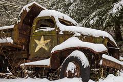 Pocquette (Dex Horton Photography) Tags: pocquette rig trucks htt army dump abandoned rust dexhorton
