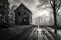 Penny Dreadful (drei88) Tags: bleak grim dreary desolate desolation lonely neglect abandonment dark foggy january