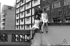 Retrofuturism (Polly (Family.Inc)) Tags: twiggy retro retrofuturism blackandwhite bw black white fashion brazil sãopaulo