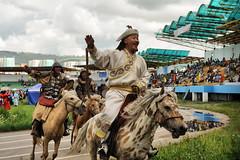 new Gengis Khan (camillacamomilla) Tags: horse edernet mongolia naadan festival olimpiadi nikon d 700 color stadio culture asia expedition adventure tourist gengis khan