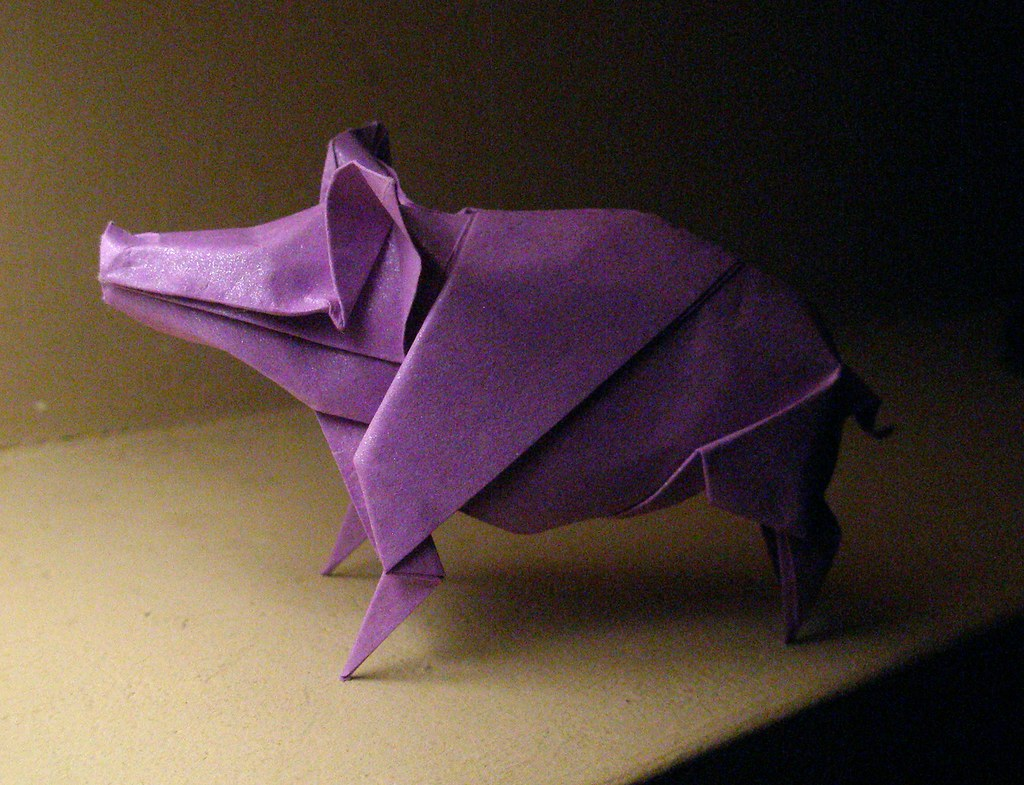 The World's Best Photos of origami and pig - Flickr Hive Mind - photo#39