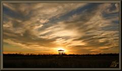 Observing the platform (WanaM3) Tags: wanam3 sony a700 sonya700 texas houston elfrancoleepark observationplatform sky vista outdoors landscape clouds goldenhour golden gold sunset